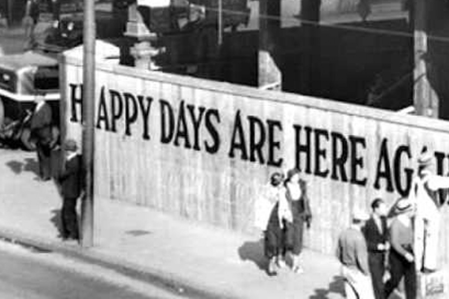Happy Days Are Here Again? Redux or Fools' Folly?
