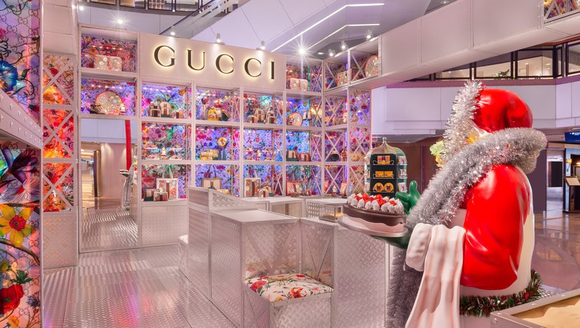 A Gucci Pop-Up Store