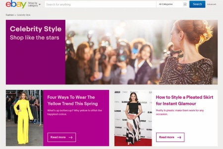 Ebay Launches Ai Powered Shop The Celebrity Look Gra